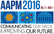2016 AAPM Annual Meeting