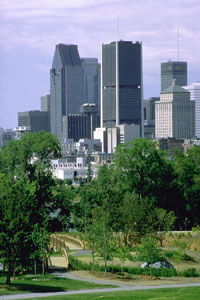 Downtown viewed from parc Jean-Drapeau, ©Ville de Montr�al, Johanne Palasse