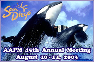 2003 Annual Meeting Home