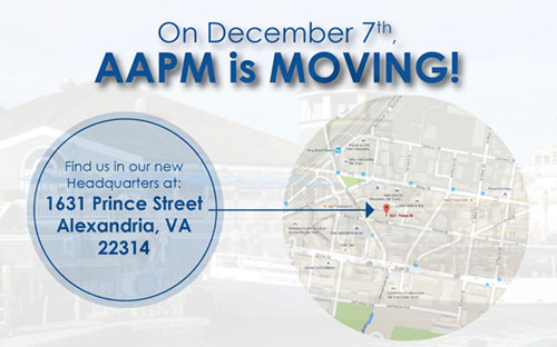 AAPM is Moving!